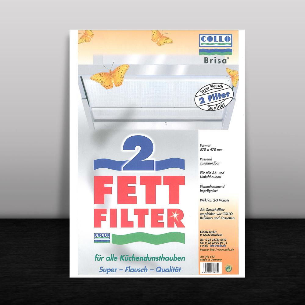 BRISA Fettfilter für Dunstabzugshauben